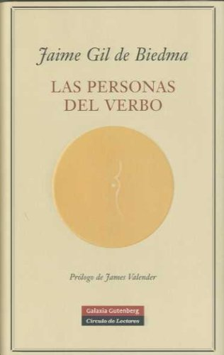 9788481095920: Las personas del verbo/ People of the Verb (Spanish Edition)