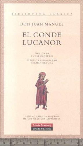 9788481096095: El Conde Lucanor (Biblioteca Clasica) (Spanish Edition)