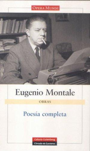 Poesía Montale (Obras Completas)