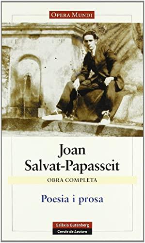 9788481096477: Poesia i prosa: Obra completa (Llibres en català)