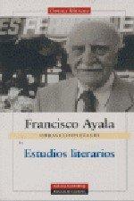 9788481096620: Estudios literarios: Obras completas. Vol.III
