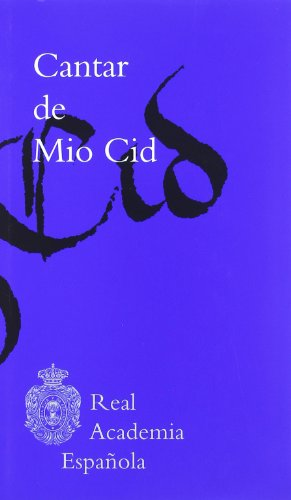 9788481099089: Cantar de mio cid