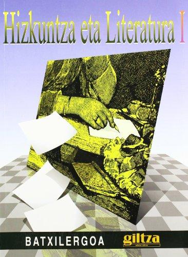 9788481185553: Hizkuntza eta literatura, 1 Batxilergoa