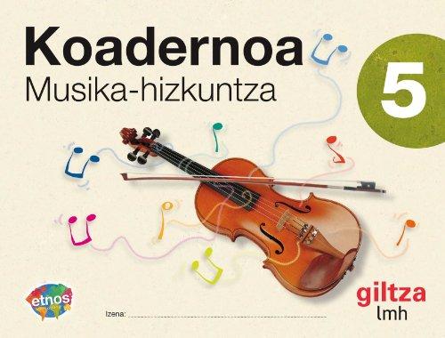 9788481188813: Koadernoa Musika Hizkuntza 5-9788481188813