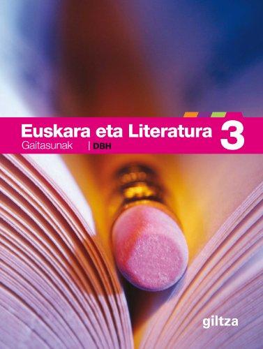 9788481189568: Euskara Eta Literatura Gaitasunak 3 - 9788481189568