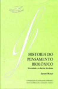 9788481217261: Lf/4-Historia Do Pensamento Bioloxico. Diversidade,Evolucion,Herdanza