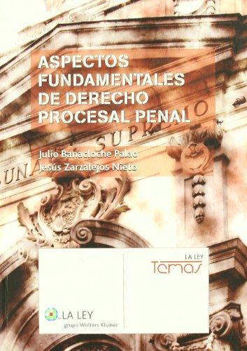 9788481263473: Aspectos fundamentales de derecho procesal penal