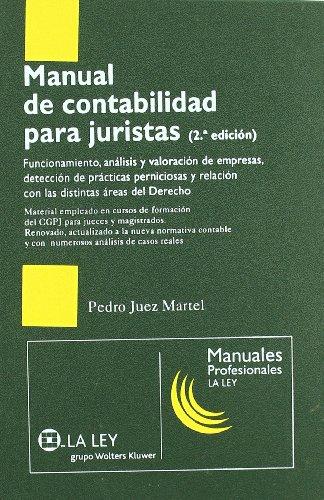 9788481263497: Manual de Contabilidad para Juristas 2ª Edición