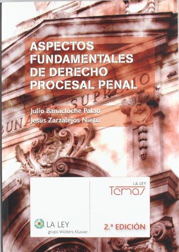 9788481263855: Aspectos fundamentales de Derecho procesal penal (2.ª edición) (Temas La Ley)