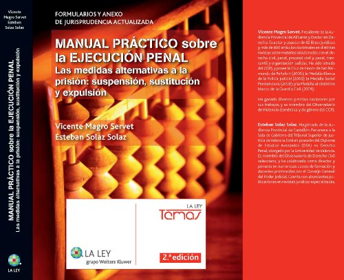 9788481267334: Manual pr ctico sobre la ejecuci n penal: Las medidas alternativas a la prisión: suspensión, sustitución y expulsión (Temas La Ley)