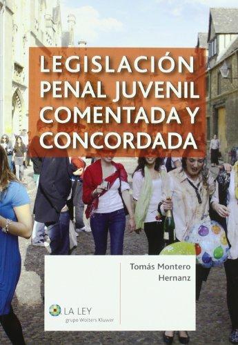 Legislación Penal Juvenil Comentada y Concordada: Montero Hernanz, Tomás