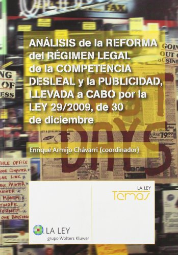 ANÁLISIS DE LA REFORMA DEL RÉGIMEN LEGAL: ARMIJO CHÁVARRI, ENRIQUE