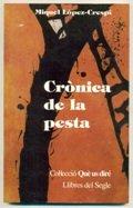9788481280012: CRONICA DE LA PESTA