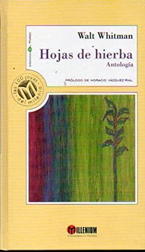 9788481302080: Hojas de hierba antología
