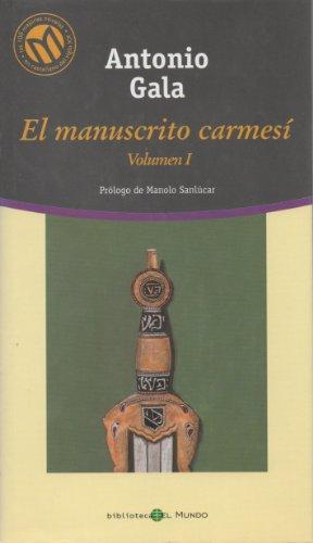 9788481303803: El Manuscrito Carmesí. Vol. I
