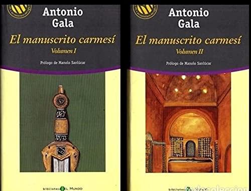 9788481303827: El manuscrito Carmesí. (DOS VOLUMENES)