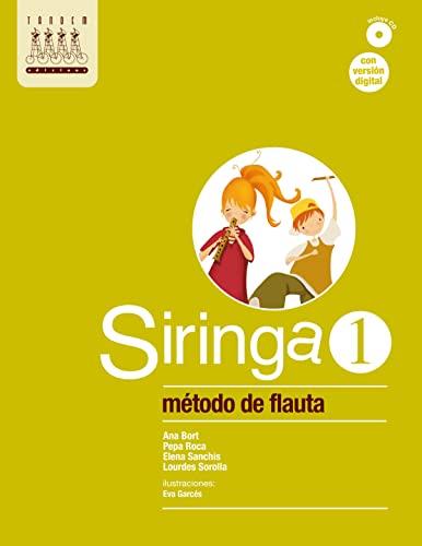 9788481317428: Siringa 1. Método de flauta - 9788481317428