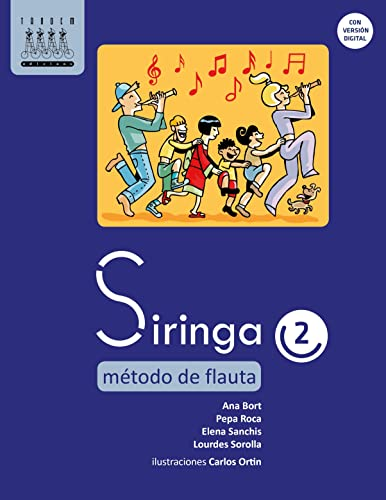 9788481319903: Siringa 2. Método de flauta - 9788481319903