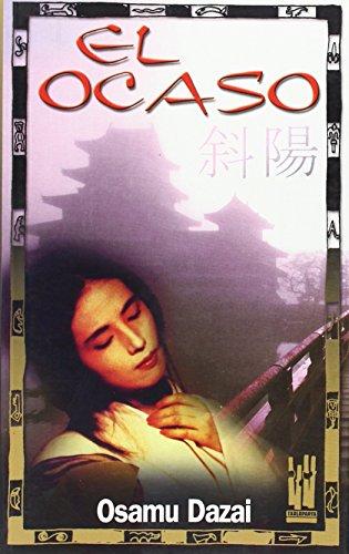 El ocaso (9788481363654) by Osamu Dazai