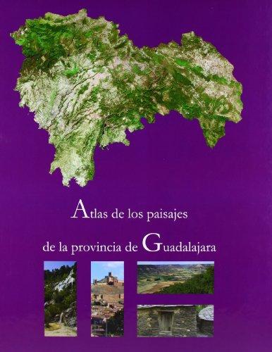 ATLAS DE LOS PAISAJES DE LA PROVINCIA DE GUADALAJARA: SANCHO COMINS, J. / D. REINOSO MORENO, EDS.