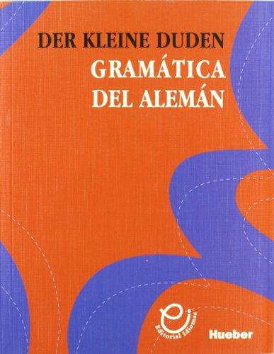 9788481410327: Der kleine duden - gramatica del Alemán