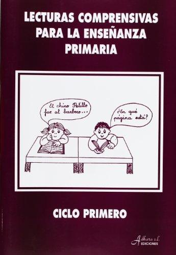 9788481440584: Lecturas comprensivas para la enseñanza primaria, ciclo primero - 9788481440584