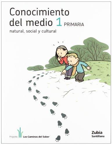 9788481479423: CONOCIMIENTO DEL MEDIO 1 PRIMARIA LOS CAMINOS DEL SABER - 9788481479423