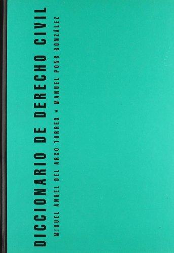 9788481517590: Diccionario de derecho civil