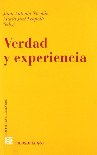 9788481517767: Verdad y experiencia