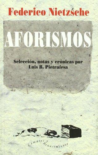 9788481518825: Aforismos (Renacimiento/Comares, Col. Otros Títulos)