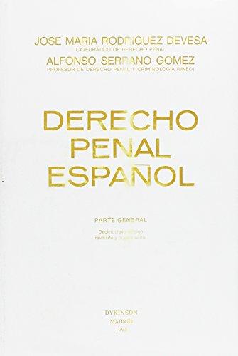 9788481551136: Derecho penal español : parte general