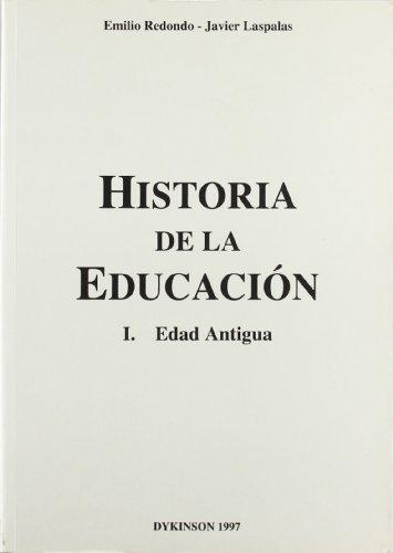 9788481552966: HISTORIA DE LA EDUCACION: EDAD ANTIGUA