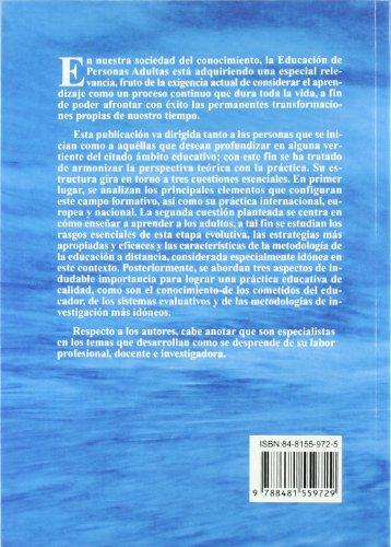 9788481559729: La Educación De Personas Adultas (Spanish Edition)