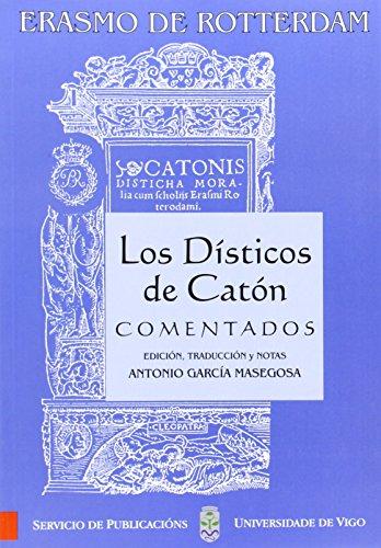 9788481580617: Los Dísticos de Catón comentados