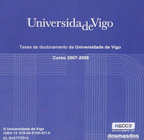 9788481583465: Teses de doutoramento da Universidade de Vigo. Curso 2005-2006