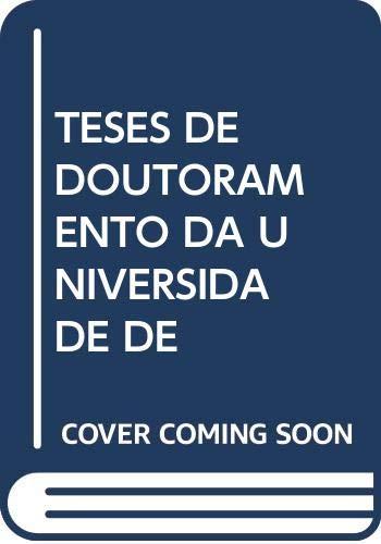 Teses de doutoramento da Universidade de Vigo.