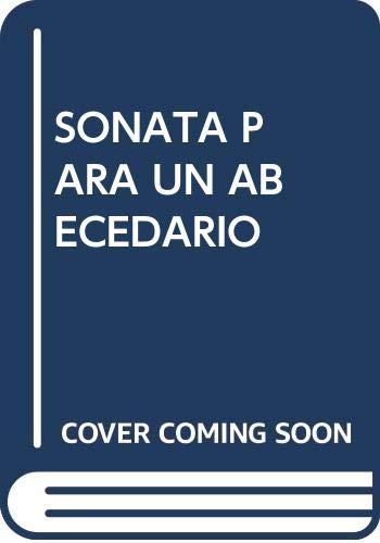 9788481633764: Sonata para Un Abecedario (J.R.J. Coleccion de Poesia, 44)