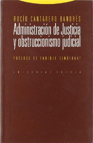 Administración de Justicia y obstruccionismo judicial: Rocío Cantarero Bandrés