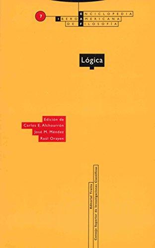 Lógica (Encyclopdia IberoAmericna de Filosofia): Carlos E. Alchourron,