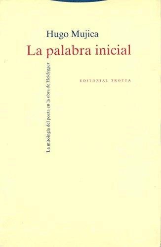 9788481640700: Palabra Inicial, La (Spanish Edition)