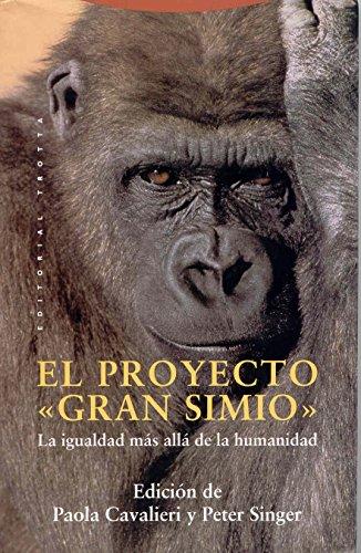 9788481641967: Proyecto Gran Simio, El (Spanish Edition)