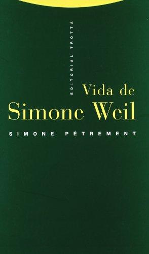 9788481642070: Vida de Simone Weil (Estructuras y Procesos. Religión)