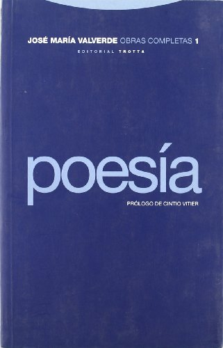 9788481642179: Poesia - Jose Maria Valverde (Spanish Edition)