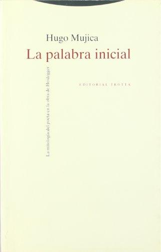 9788481642254: Palabra Inicial, La (Spanish Edition)