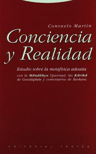 9788481642698: Conciencia y realidad: Estudio sobre la metafísica advaita (Estructuras y Procesos. Filosofía)