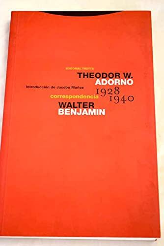 9788481642803: Correspondencia (1928-1940) (Estructuras y Procesos. Filosofía)