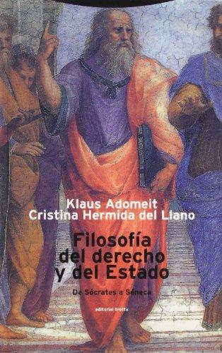 9788481642889: Filosofia Del Derecho Y Del Estado