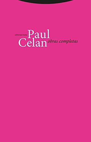 Obras Completas (La Dicha de Enmudecer) (Spanish Edition) (9788481642971) by Celan, Paul