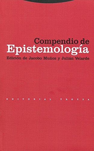 9788481643275: Compendio de epistemología (Estructuras y Procesos. Filosofía)