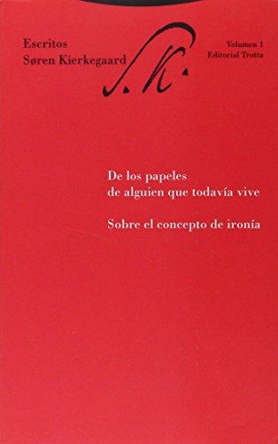 9788481643657: Soren Kierkegaard - Escritos - Tomo 1 (Spanish Edition)